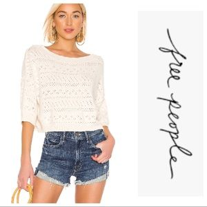 🎉 HP 🎉 NWT Free People Sandcastle Sweater